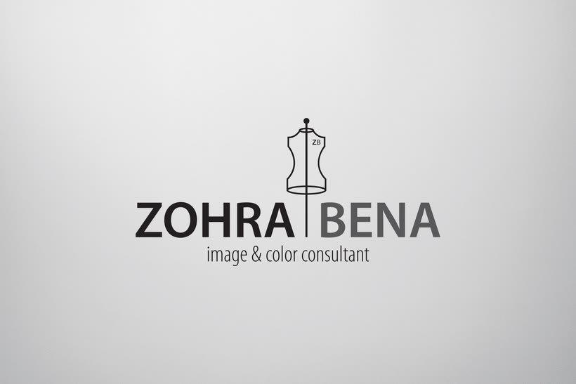 Zohra Bena - Identidad Corporativa - Logo 1