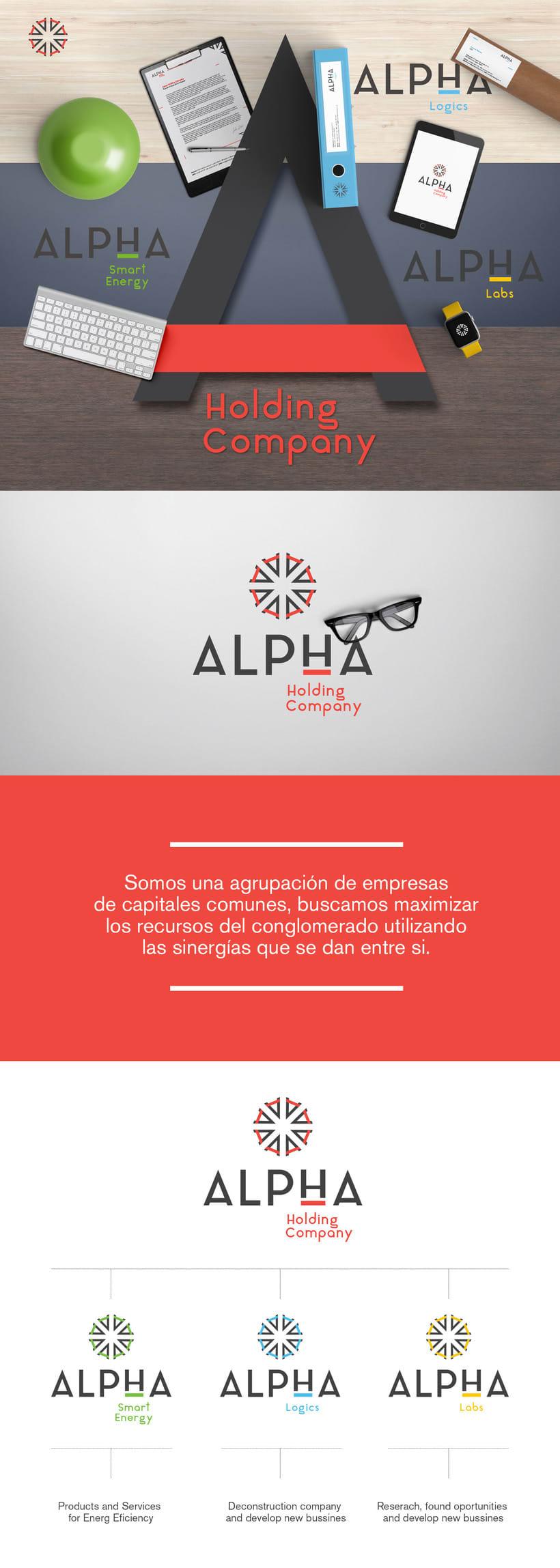 Alpha Holding Company -1