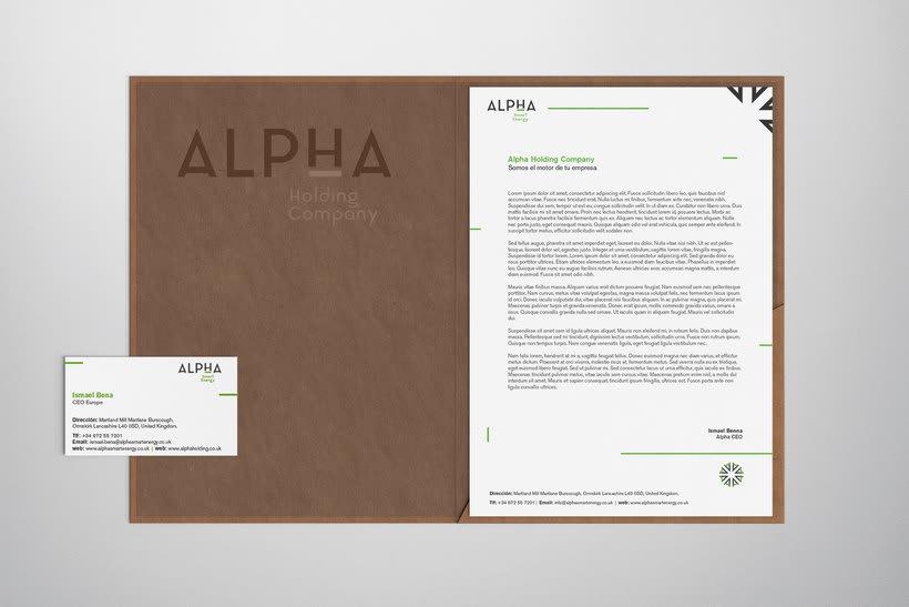 Alpha Holding Company 4