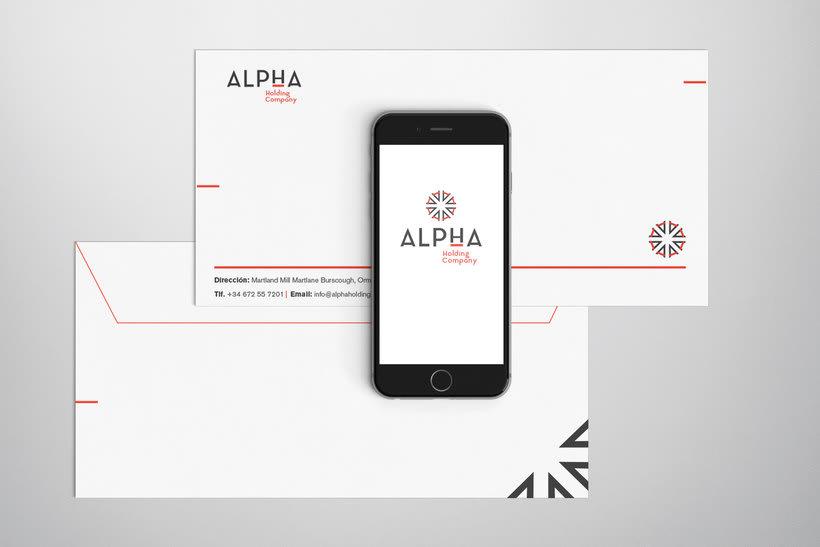 Alpha Holding Company 8