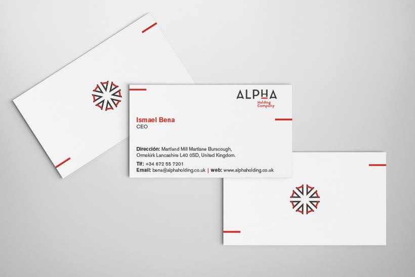 Alpha Holding Company 9