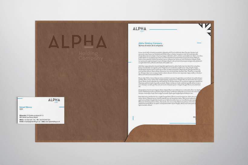 Alpha Holding Company 10