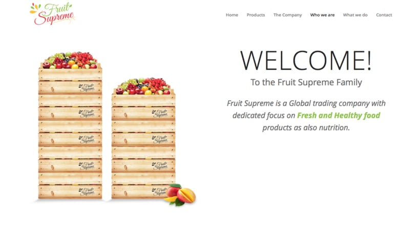 Fruit Supreme - Branding  - Web 4