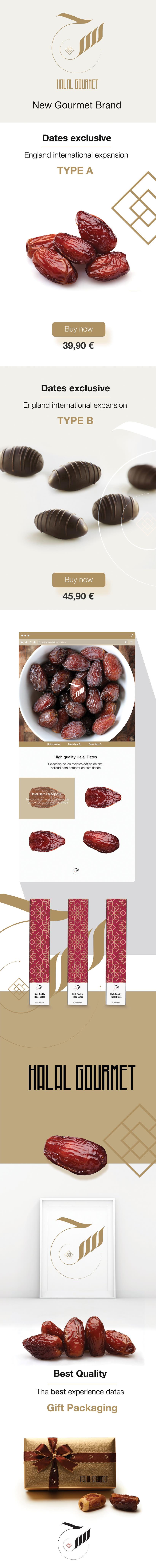 Halal Gourmet - Branding Design -1