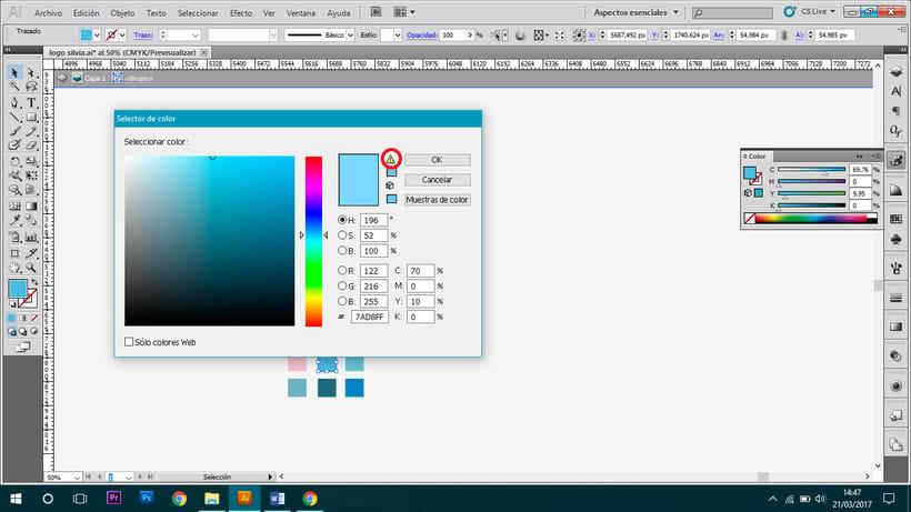 Problema con color en Illustrator - Ayuda 1