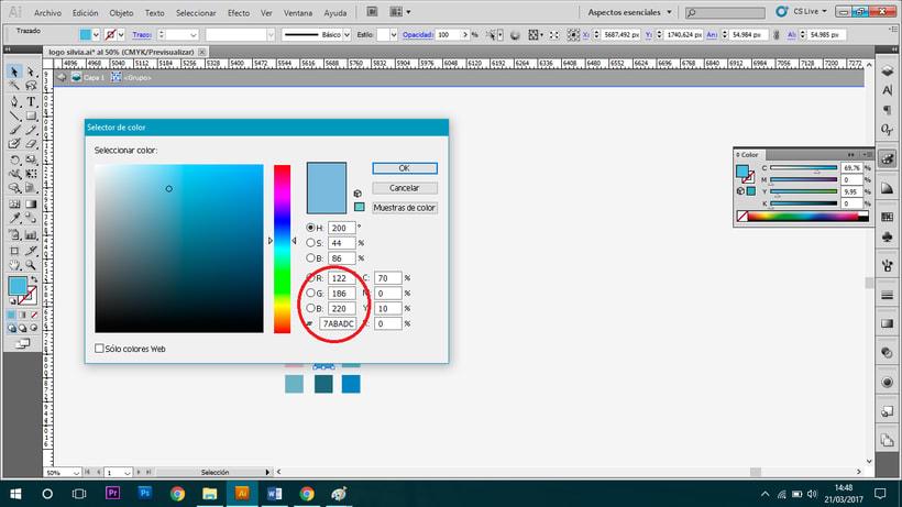 Problema con color en Illustrator - Ayuda 2