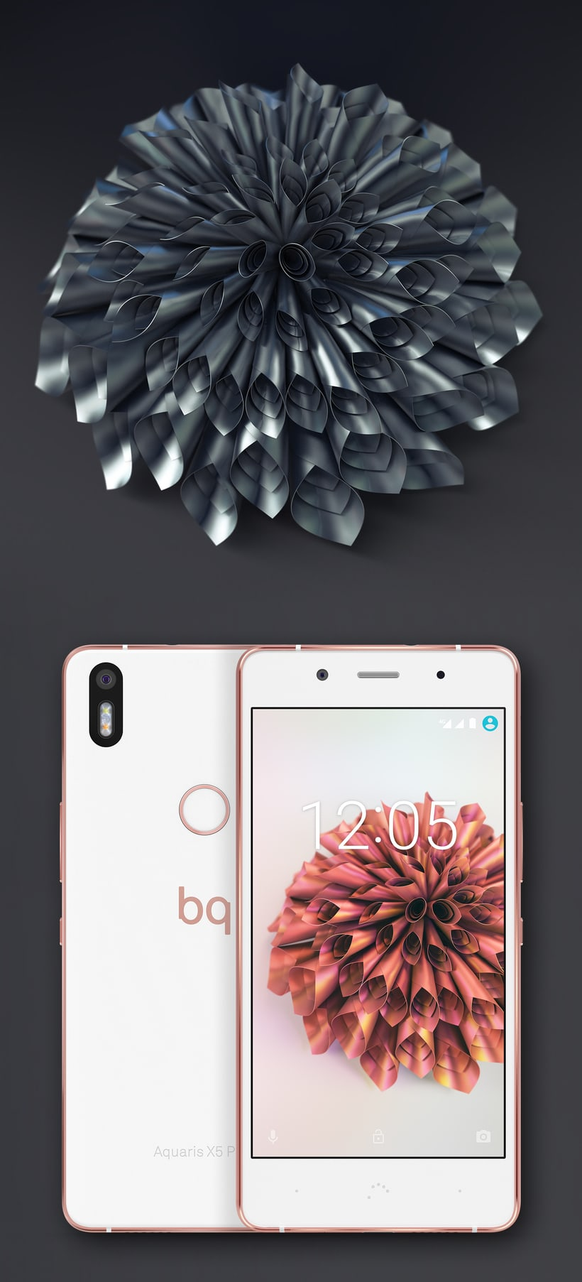 Official wallpapers for bq Aquaris X5 plus 5
