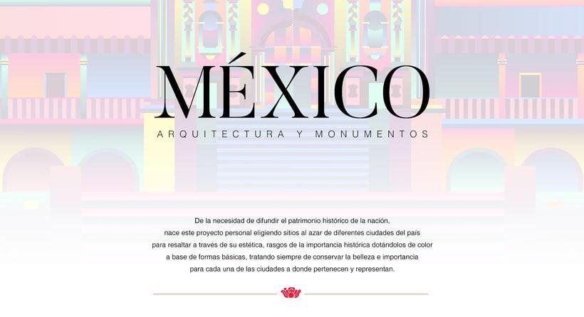 MEXICO arquitectura y monumentos IV -1