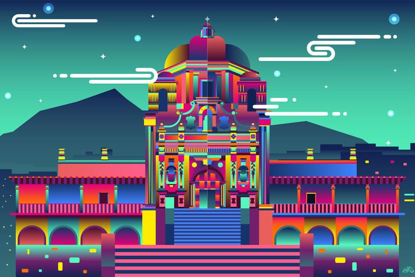 MEXICO arquitectura y monumentos IV 2