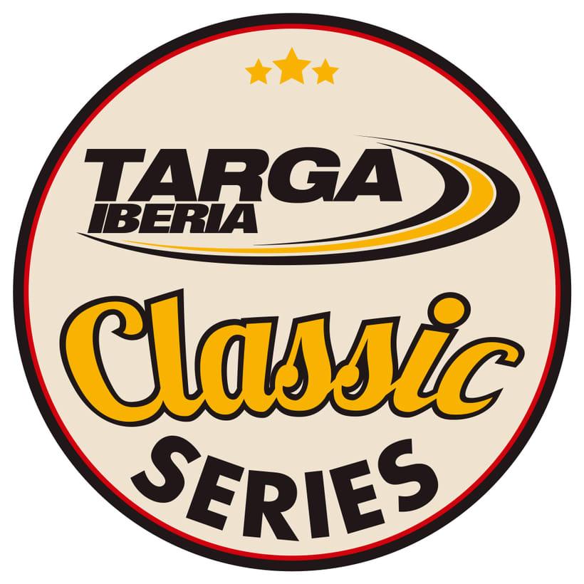Logotipo Targa Iberia Classic Series 2
