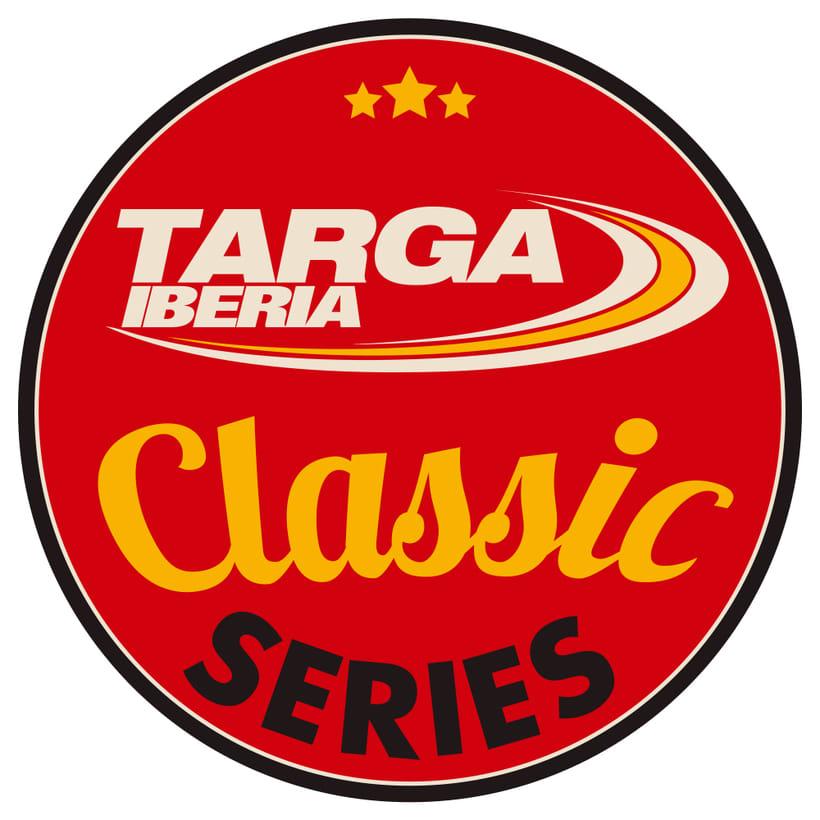 Logotipo Targa Iberia Classic Series 3