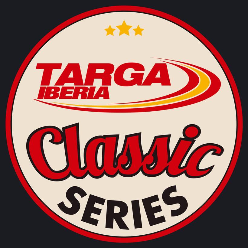 Logotipo Targa Iberia Classic Series 1