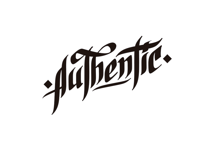 Lettering para remera | Authentic 3