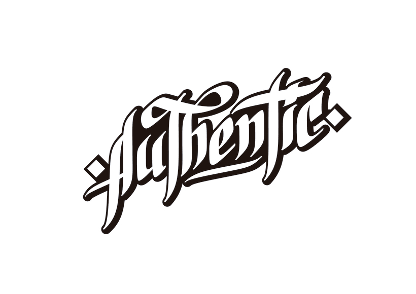 Lettering para remera | Authentic 4