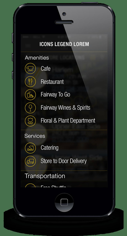 Fairway Aplicación Móvil 5