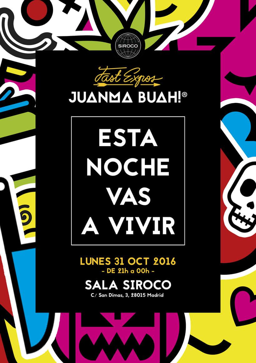 """Exhibition """"Esta Noche Vas a Vivir"""" at Sala Siroco 1"""