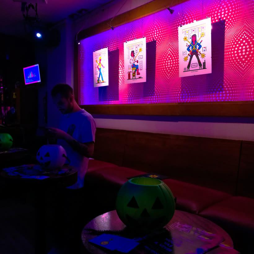 """Exhibition """"Esta Noche Vas a Vivir"""" at Sala Siroco 2"""