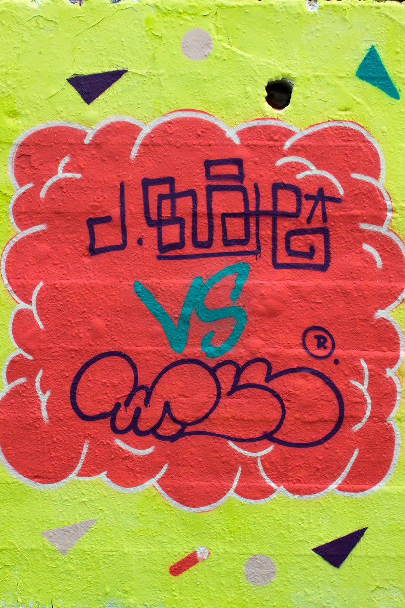 Mural Juanma Buah! Vs Will.R  7