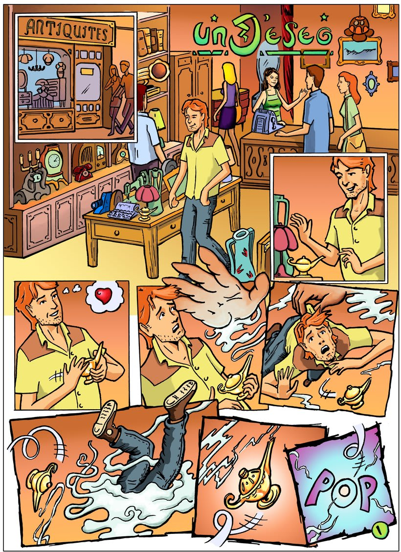 Un Deseo (cómic) 0
