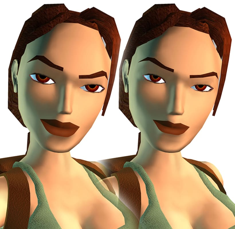 Retoque digital: Tomb Raider 4