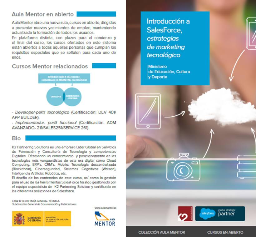 Moodle Introducción a Salesforce, estrategias de marketing tecnológico - Aula Mentor 1