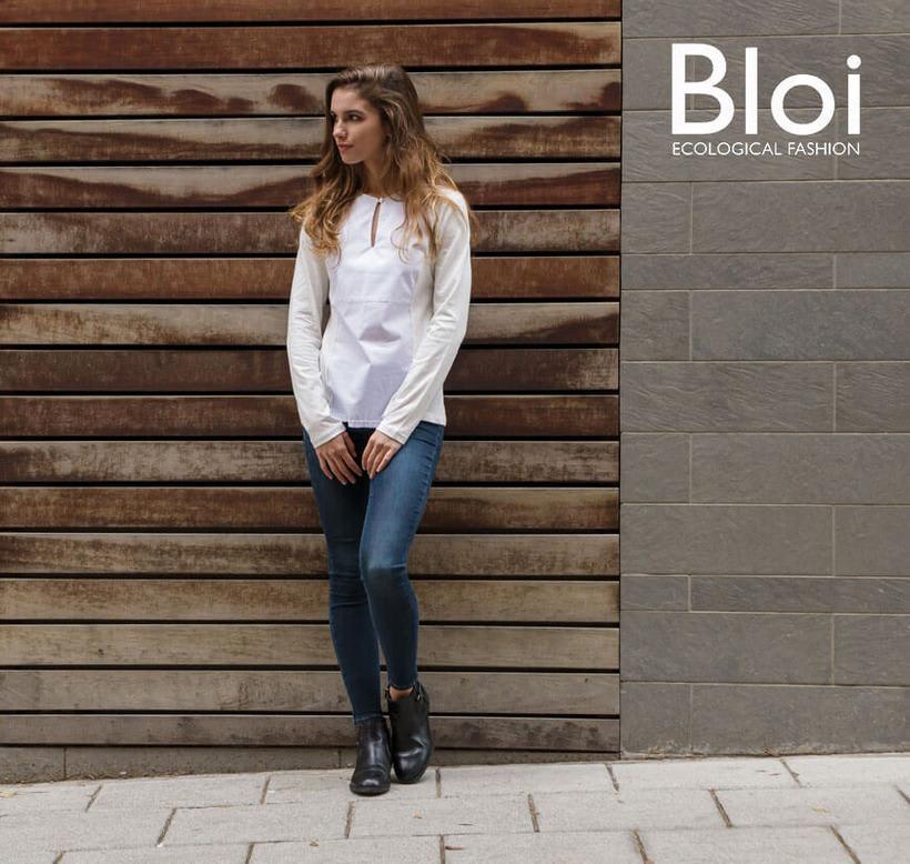 Fotografía de moda ecológica para Bloi 2