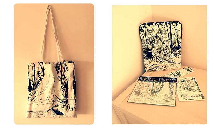 Ilustracion aplicada para Museo Cosmo Caixa  0