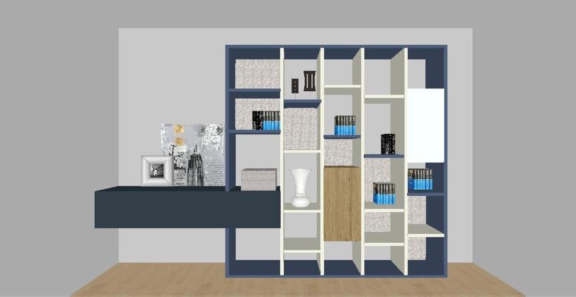 Distribución y decoración en dormitorio y salón 11