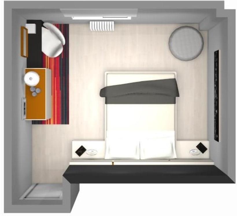 Distribución y decoración en dormitorio y salón 0