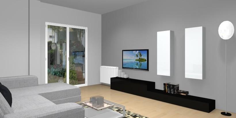 Distribución y decoración en dormitorio y salón 6