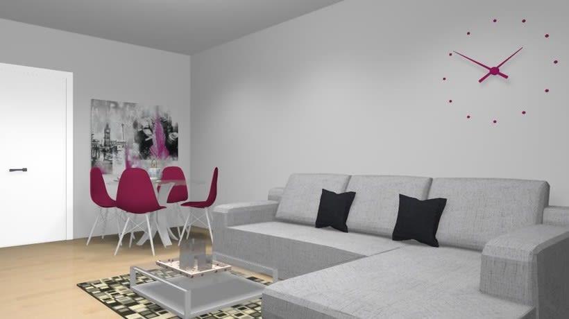 Distribución y decoración en dormitorio y salón 9