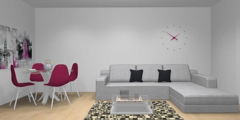 Distribución y decoración en dormitorio y salón 10