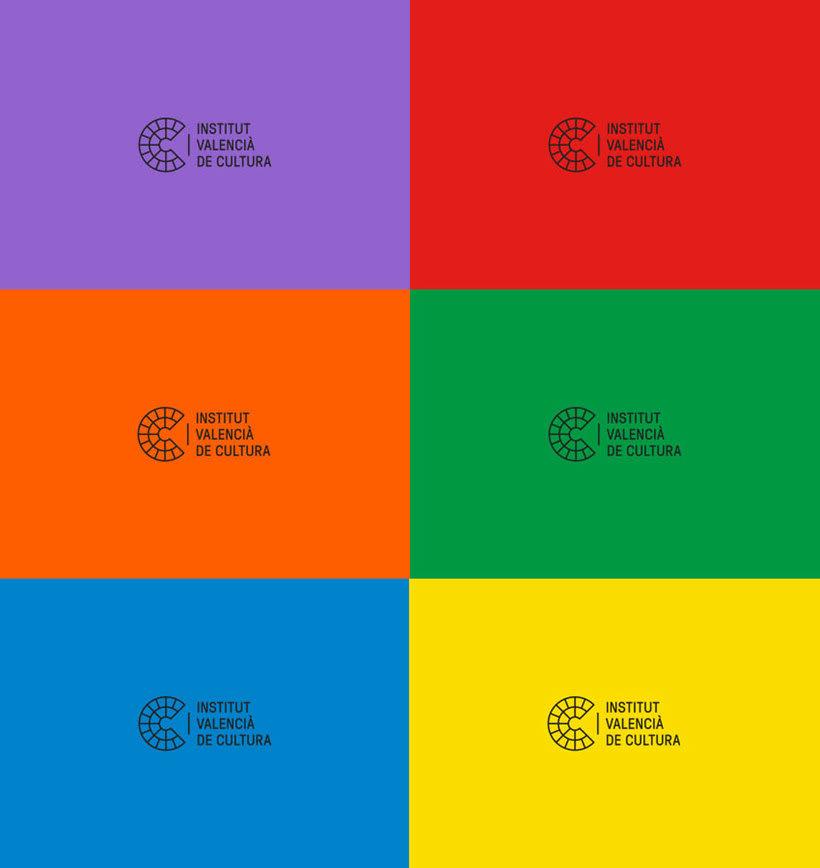Nuevo logotipo del Institut Valencià de Cultura 8