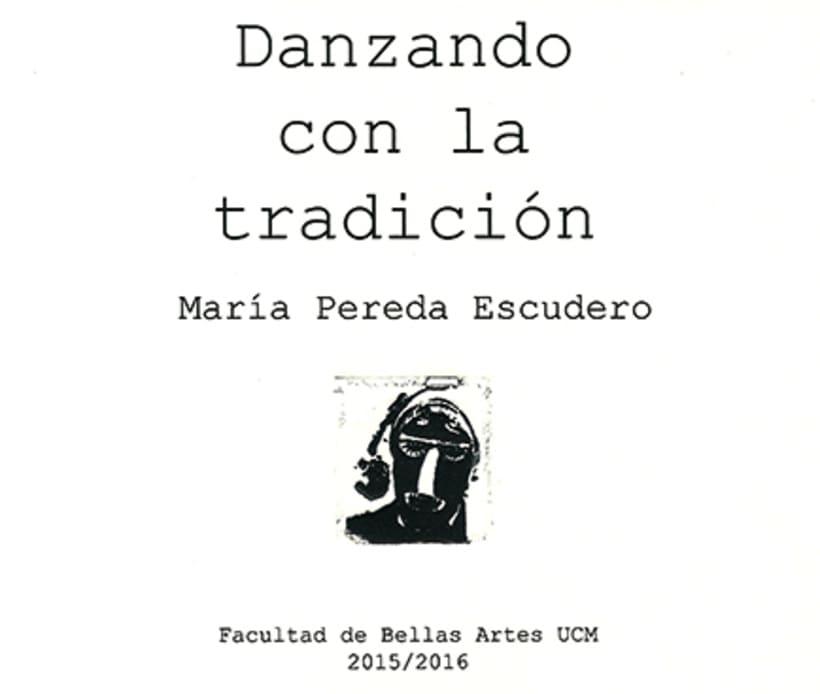 """""""Danzando con la Tradición"""", libro de grabado 0"""