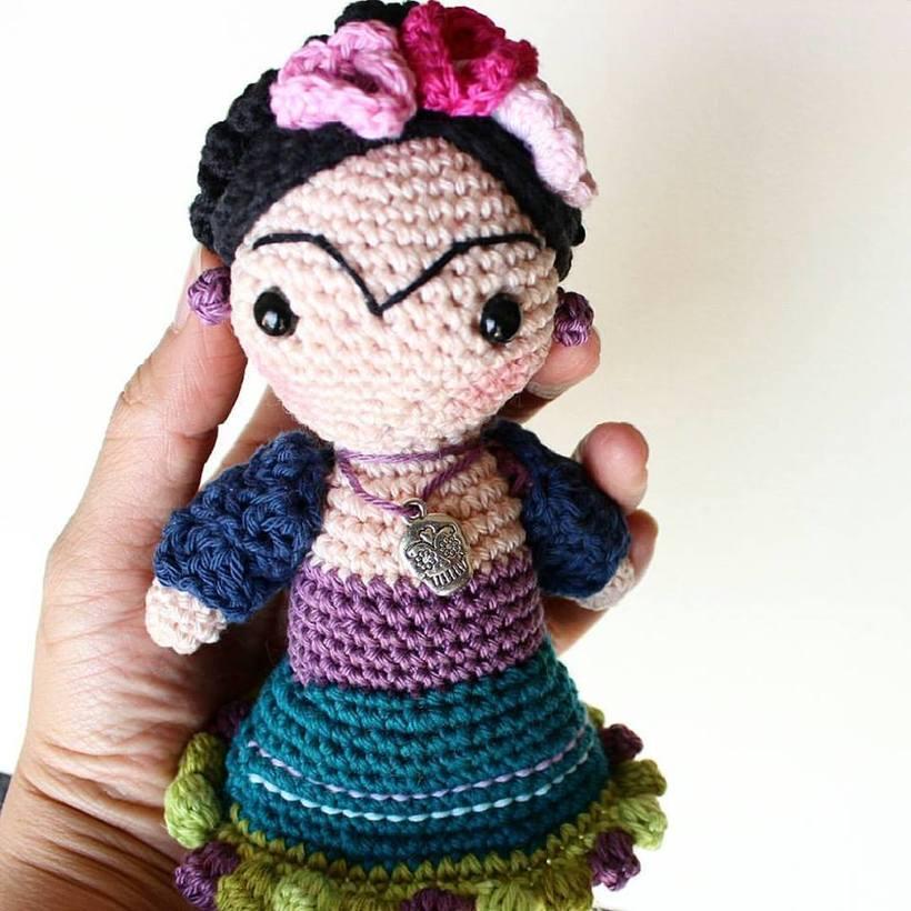 Frida - Amigurumi -1