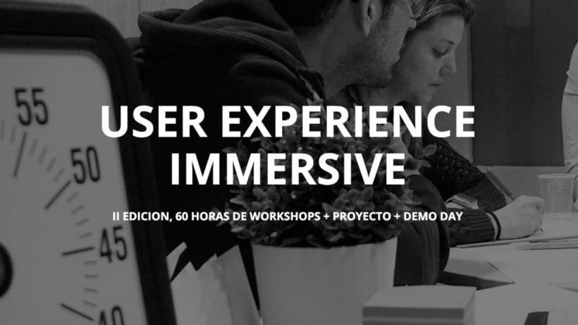 Fórmate como UX / UI Design en 8 semanas con nuestro curso UX IMMERSIVE 1