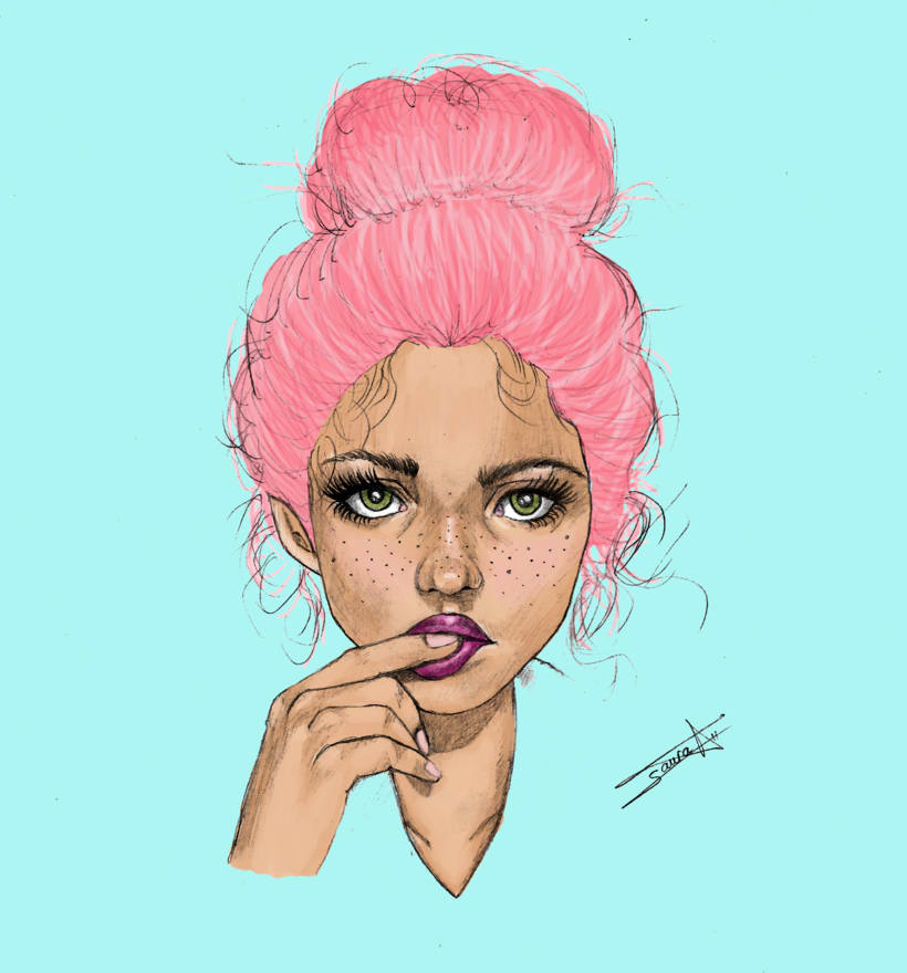 Candy lady -1