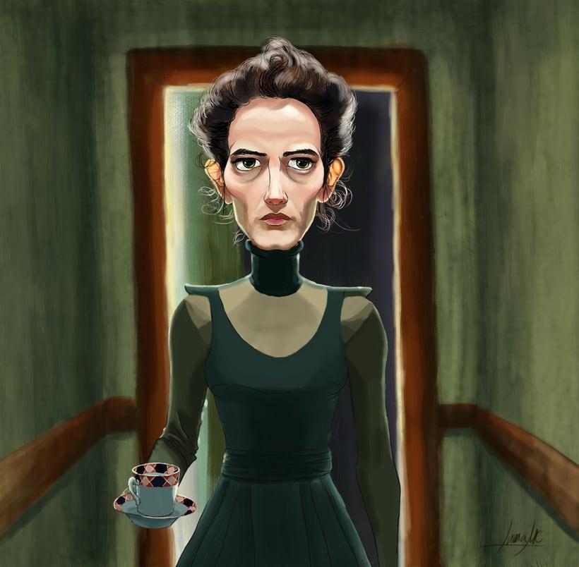 Vanessa Ives Fanart -1