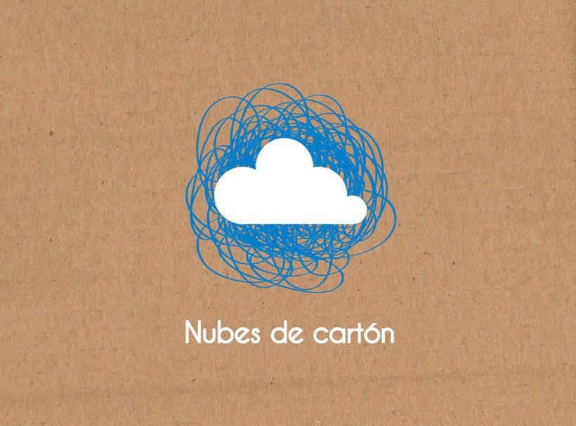 Identidad ludoteca Nubes de cartón 0