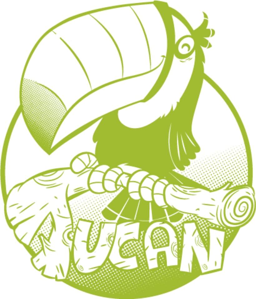 Tortuga&Tucán (Logos para tienda on line y física) 0