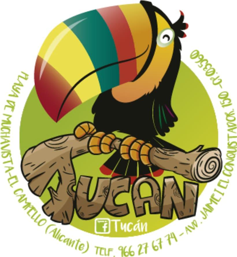 Tortuga&Tucán (Logos para tienda on line y física) 1