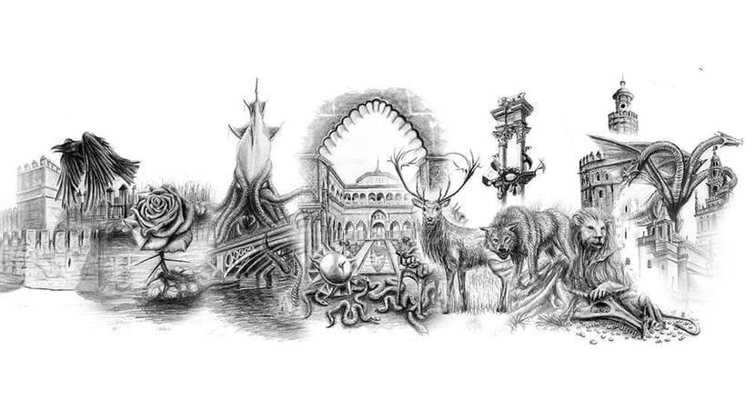 Torneo de Dorne - Ilustración y diseño de cartas para Juego de Tronos LCG 11