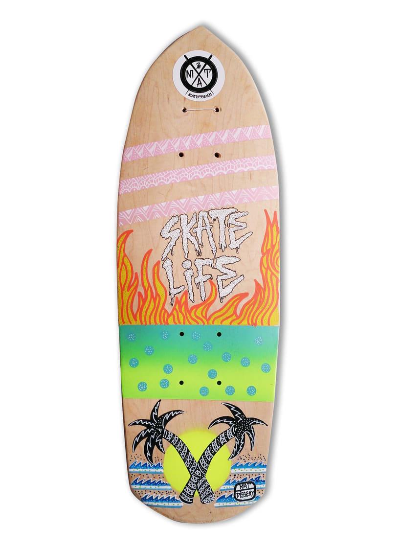 Skateboard • Skate Life #SkateArt -1