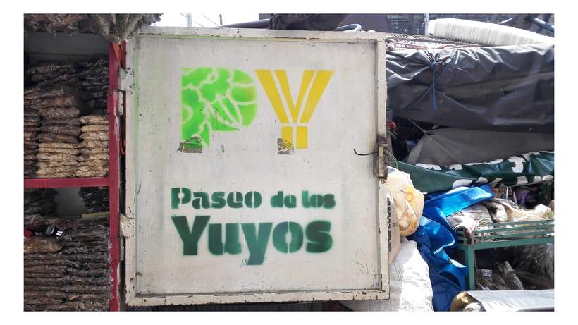 Identidad Paseo de los Yuyos - Mercado Nº 4  de Asunción. 3