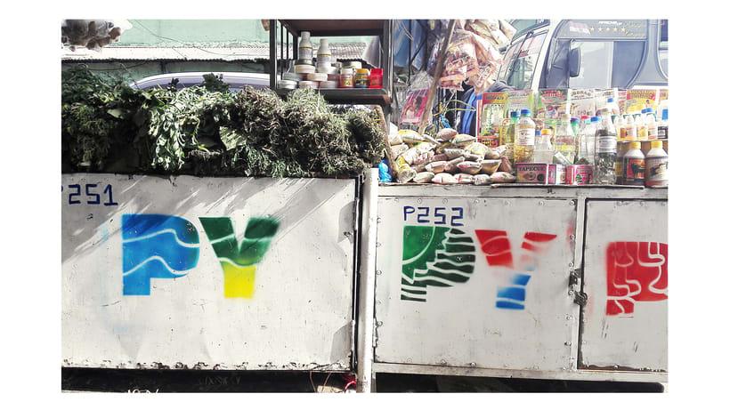 Identidad Paseo de los Yuyos - Mercado Nº 4  de Asunción. 5
