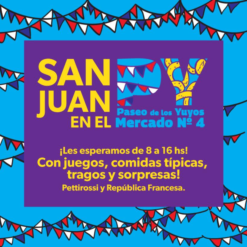 Identidad Paseo de los Yuyos - Mercado Nº 4  de Asunción. 10