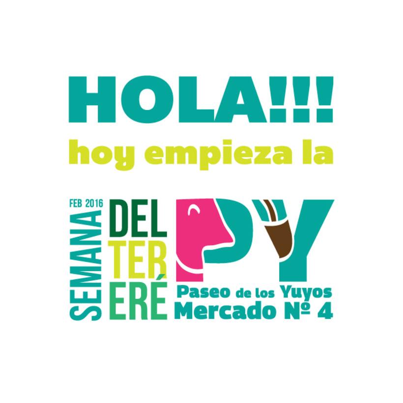 Identidad Paseo de los Yuyos - Mercado Nº 4  de Asunción. 11