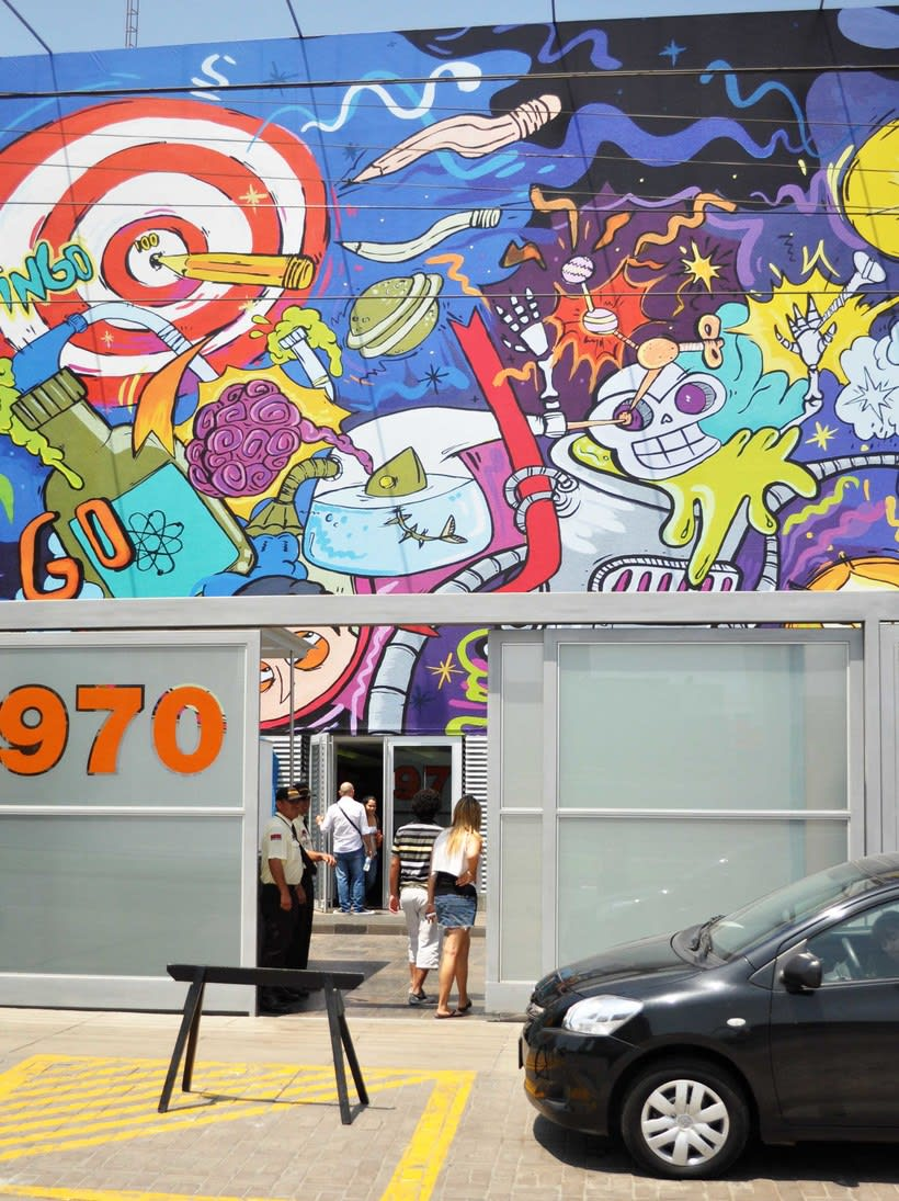 Instituto de Arte y Diseño Toulouse Lautrec - ioke + seimiek 0