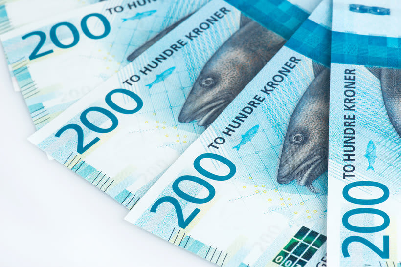 Noruega estrena billetes con diseño pixelado 1