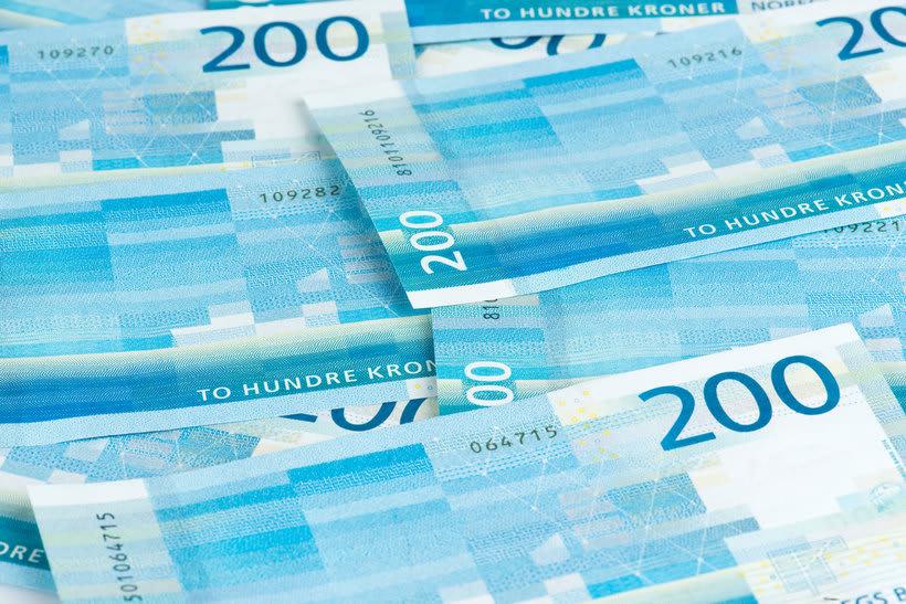 Noruega estrena billetes con diseño pixelado 10